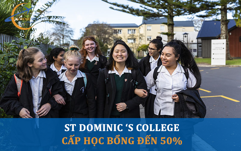 Học bổng tại trường trung học St Dominic's College New Zealand