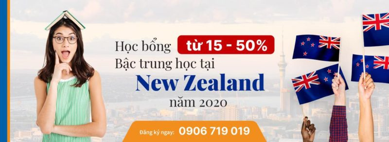 học bổng new zealand
