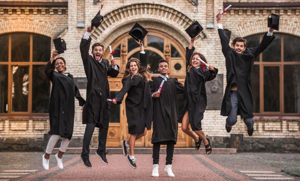 students university netherlands celebration