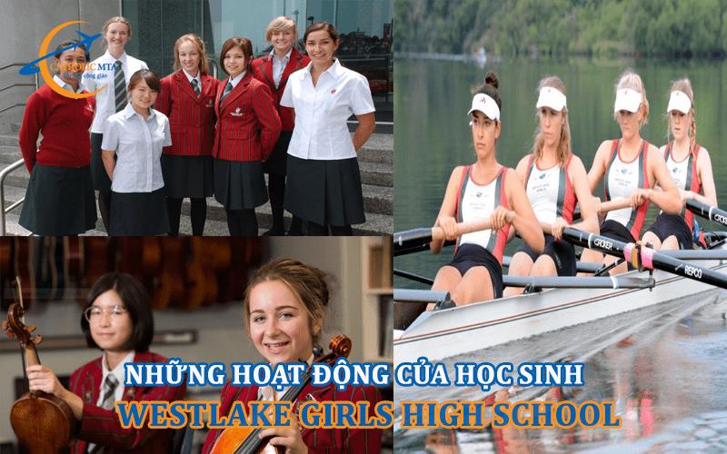 Những hoạt động của học sinh trường Westlake Girls High School
