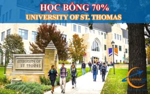 Học bổng 70% trường đại học university of st thomas