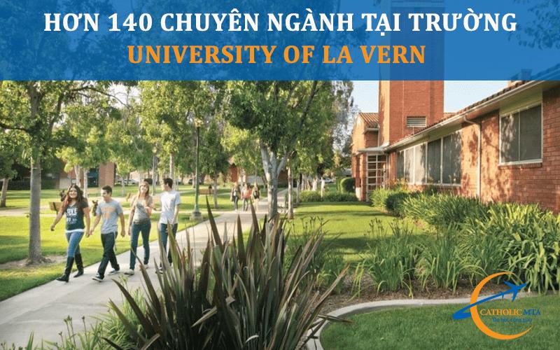 Ngành học tại trường đại học University of La Verne