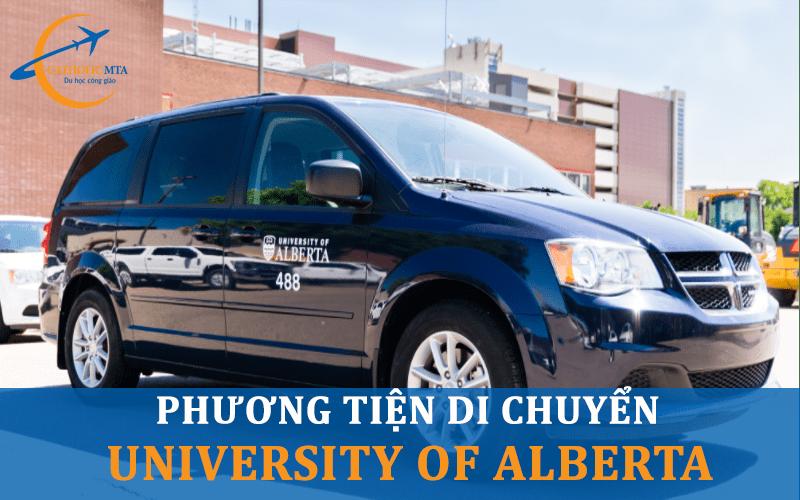 Phương tiện di chuyển tại đại học University of Alberta