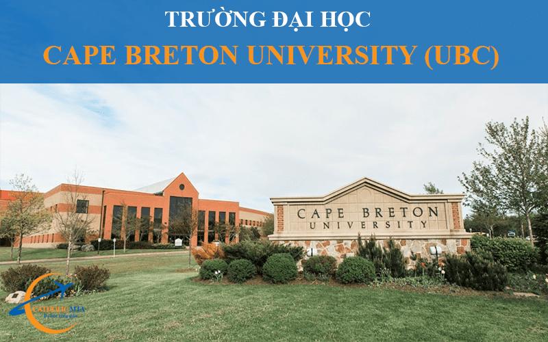 Trường đại học Cape Breton University Canada