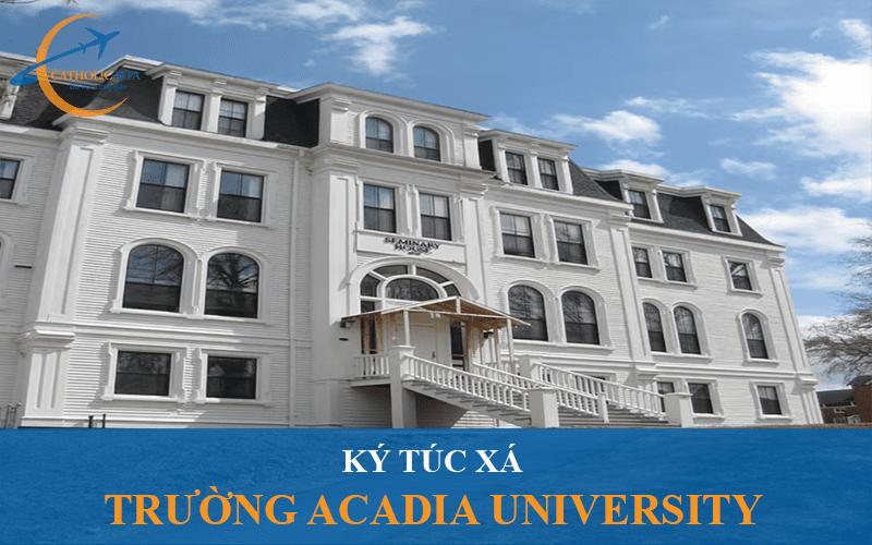 Ký túc xá trường Đại học Acadia University