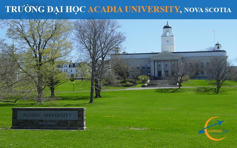 Trường đại học Acadia University
