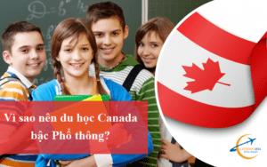 Du học Canada bậc phổ thông