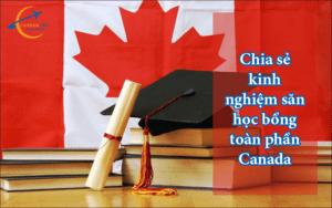 học bổng toàn phần Canada