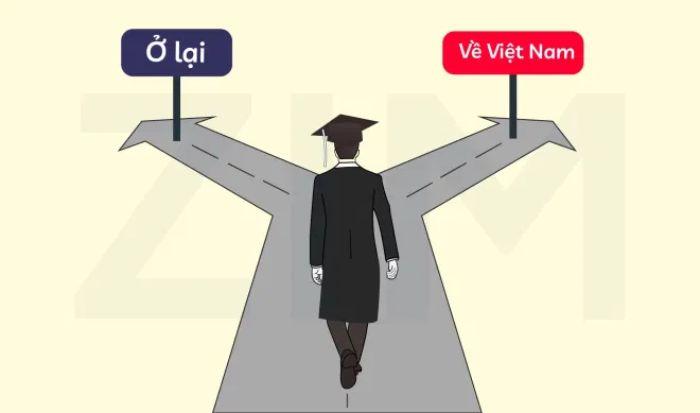 Cần thể hiện được kế hoạch trở về Việt Nam sau khi hoàn thành chương trình học